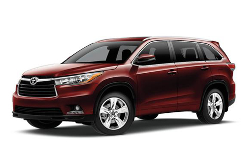 Highlander Toyota Rental